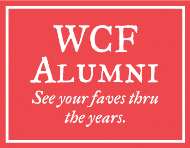 WCF Alumni button