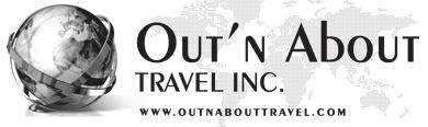 Out n' About Travel - logo