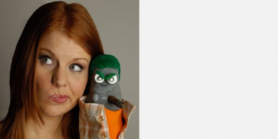 Ed The Sock and Liana K.